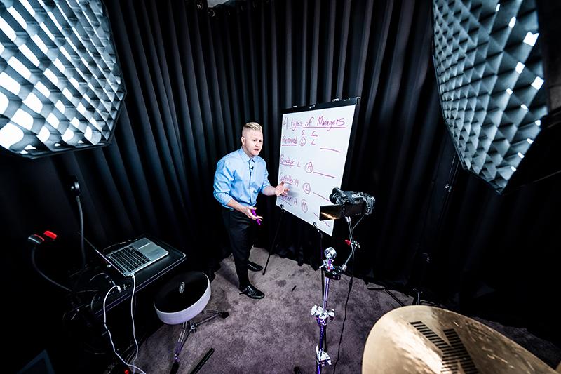 clint gives whiteboard keynote